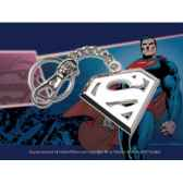 porte cles logo superman en acier noble collection nnxt8361