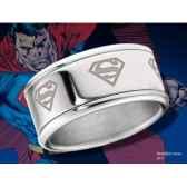 superman anneau coulissant acier noble collection nnxt8301