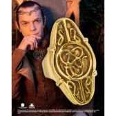 elrond anneau argent 925eme plaque or noble collection nn1225