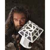 thorin oakenshield anneau nain argent 925eme noble collection nn1321