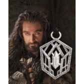 thorin oakenshield pendentif argent 925eme noble collection nn1350