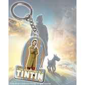 tintin porte cles logo noble collection nn2092