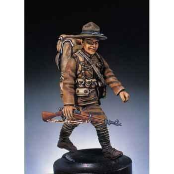 Figurine - Kit à peindre Fantassin  Etats-Unis  - S3-F2