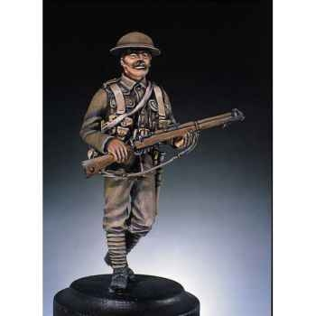 Figurine - Kit à peindre Fantassin  G.-B  - S3-F4