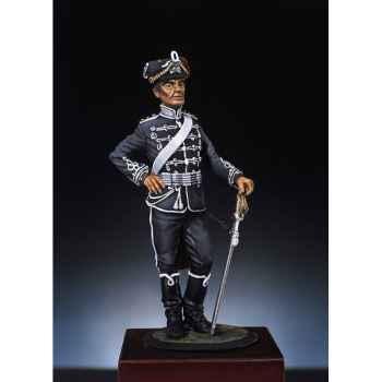 Figurine - Kit à peindre Hussard de la mort  Prusse  - S3-F6