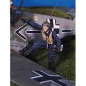 figurine kit a peindre pilote de chasse allemand sw 03