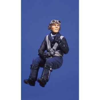 Figurine - Kit à peindre Pilote allemand dans la cabine de pilotage - SW-04