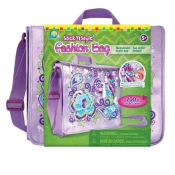 Mosaïques autocollantes - sac fashion stick'n style The ORB Factory -ORB65683
