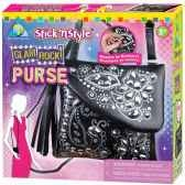 mosaiques autocollantes sac a main glam rock stick n style the orb factory orb64891