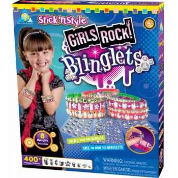 Mosaïques autocollantes - bracelets rock girly stick n' style The ORB Factory -ORB64433