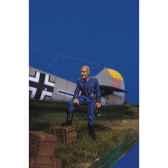 figurine kit a peindre pilote allemand au repos i sw 05