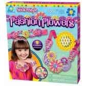 mosaiques autocollantes parure fleurs fashion stick n style the orb factory orb64396