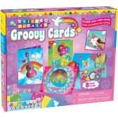 mosaiques autocollantes cartes postales groovy sticky mosaics the orb factory orb81577