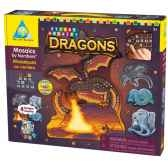 mosaiques autocollantes dragons sticky mosaics the orb factory orb62248