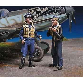 Figurine - Kit à peindre Pilotes allemands au repos III - SW-09
