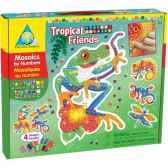 mosaiques autocollantes animaux tropicaux sticky mosaics the orb factory orb64259