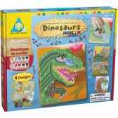 mosaiques autocollantes dinosaures sticky mosaics the orb factory orb62446