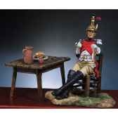 figurine kit a peindre officier francais 4e dragons en 1812 s7 f10