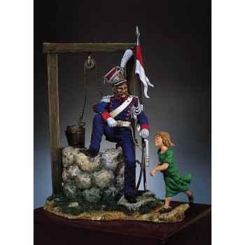 Figurine - Kit à peindre Lancier polonais - S7-F16