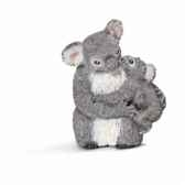 koala femelle avec jeune koala schleich 14677
