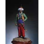 figurine kit a peindre mamelouk en 1810 s7 f21