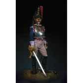 figurine kit a peindre officier des cuirassiers en 1807 s7 f23
