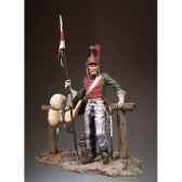 figurine kit a peindre lancier francais en 1812 s7 f25