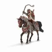 chevalier ritter dragon a chevaavec fleau d armes schleich 70101