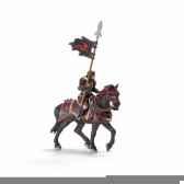 chevalier ritter dragon a chevaavec lance schleich 70102