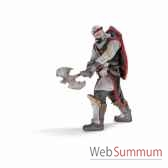 chevalier ritter dragon avec hache schleich 70105