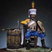 figurine kit a peindre trompette du 9e bis hussards s7 f6
