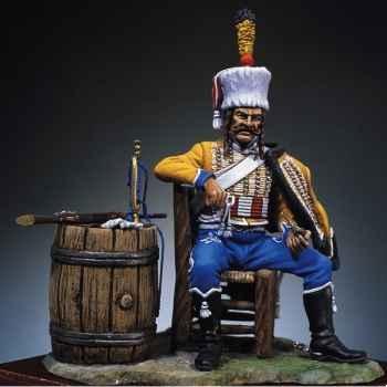 Figurine - Kit à peindre Trompette du 9e bis hussards - S7-F6