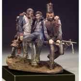 figurine kit a peindre les camarades en 1814 s7 s05
