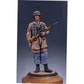 figurine kit a peindre parachutiste allemand en 1944 s5 f13