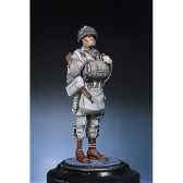 figurine kit a peindre parachutiste e u en normandie 1944 s5 f17