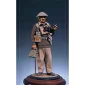 figurine kit a peindre capitaine britannique libye en 1940 s5 f18