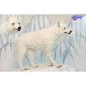 automate loup blanc a 4 pattes anima 0365
