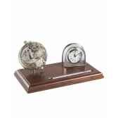 mappemonde de bureau avec horloge zoffoli art231