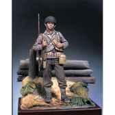 figurine kit a peindre sergent armee e u en 1942 s5 f27