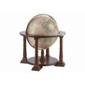 planisphere en noyer mercatore o 60 cm zoffoli art906 6002