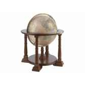 planisphere en noyer mercatore o 50 cm zoffoli art906 5002
