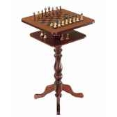 table a echecs de collection en style ancien zoffoli art136