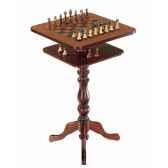 table a echecs de collection en style ancien zoffoli art136