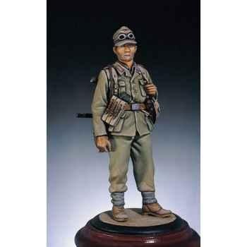 Figurine - Kit à peindre Fantassin allemand  Afrique en 1942 - S5-F32