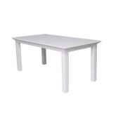 table blanche 160 cm collection halifax nova solo t759 160