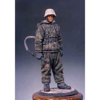Figurine - Kit à peindre Soldat allemand portant un lance-flammes - S5-F9