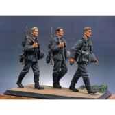 figurine kit a peindre bataillon dinfanterie allemande en marche i s5 s1