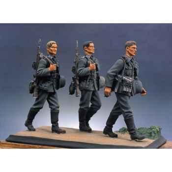 Figurine - Kit à peindre Bataillon d'infanterie allemande en marche I - S5-S1