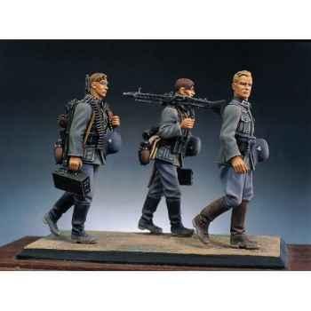 Figurine - Kit à peindre Bataillon d'infanterie allemande en marche II - S5-S2