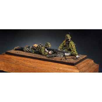 Figurine - Kit à peindre Mitrailleurs MG-42  Waffen-SS - S5-S3